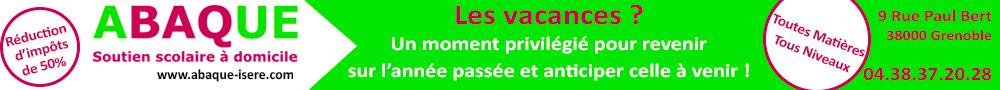 Abaque Isère - bannière juin 2017