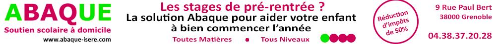 Abaque Isère - bannière août 2017