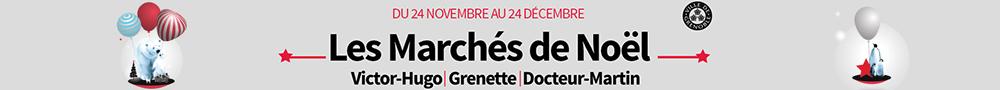 Mairie de Grenoble - bannière accueil marché de Noël 2017